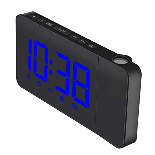 D DOLITY - Reloj Despertador con proyector de Reloj Digital ...