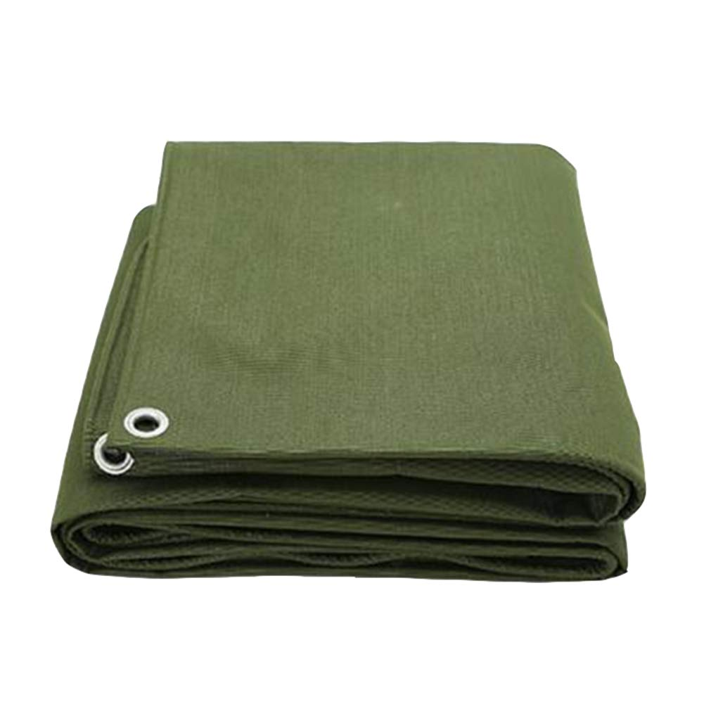 DALL ターポリン タープ シェルター 不凍液 防風 防塵 防水 老化防止 アウトドア (色 : 緑, サイズ さいず : 4×5m) 4×5m 緑 B07KXG6T7W