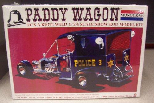 - #7807 Monogram Paddy Wagon Show Rod 1/24 Scale Plastic Model Kit