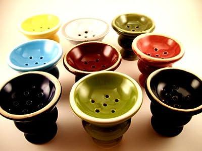 Hookah Bowl + Hookah Grommet - Pick Color - Hookah Shisha Bowl