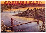 (24x36) Grateful Dead (Dead Set, View of San Francisco) Music Poster Print