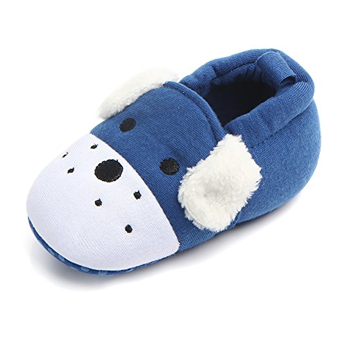 Fabric Baby Fleece - Infant Baby Boys Girls Adjustable Anti-Slip Slippers Soft Sole Moccasins Winter Socks Frist Pram Shoes