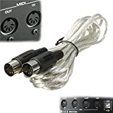 MID-310 MIDI Keyboard Instrument Interface Cable Lead Male to Male M/M 3m 10ft