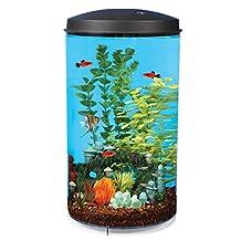 Aquarius Aq360-64c Aquaview 360 6-Gallon Aquarium Kit