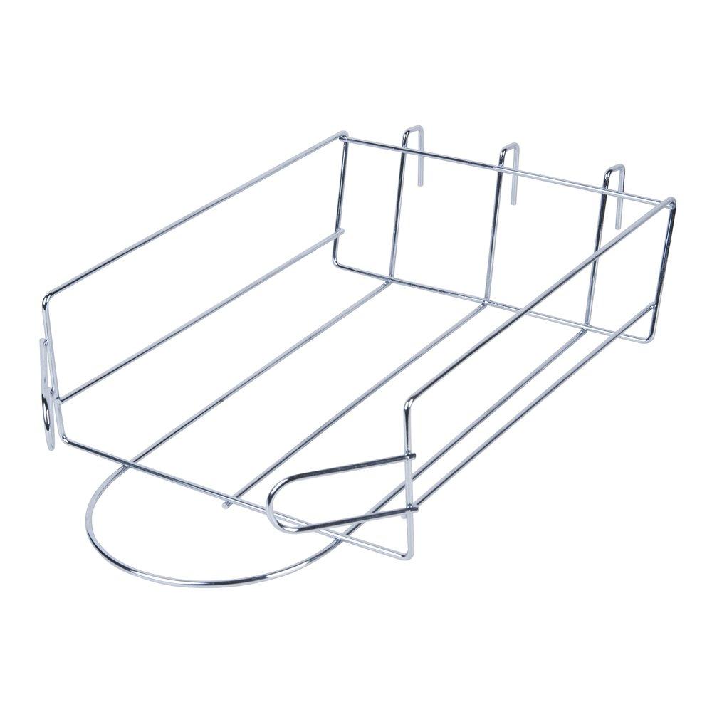 Only Hangers クロームグリッドウォールパネル ベースボールキャップハットディスプレイ 8個パック B07HJCC89Z