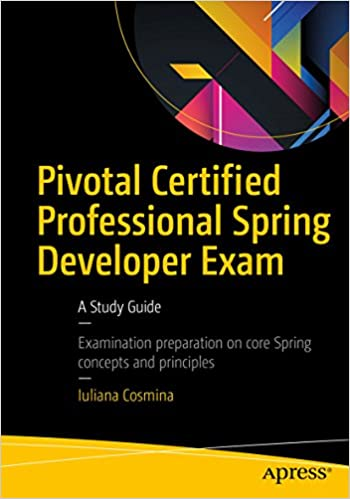 amazon com pivotal certified professional spring developer exam a