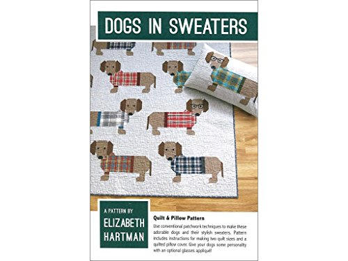 Elizabeth Hartman Dogs in Sweaters Ptrn Pattern