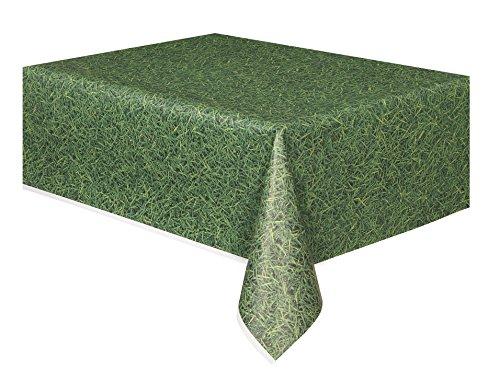 Green Grass Plastic Tablecloth 108