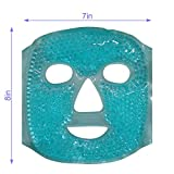Cold Face Eye Mask Ice Pack Reduce Face Puff,Dark