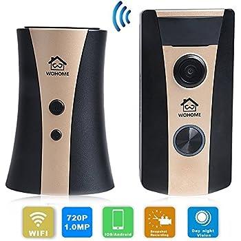 Video Doorbell Camera Wifi Doorbell Video Door Phone for Home Security