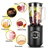 1.5L Commercial Blender, Multifunctional Mixer Powerful 800 Watt Professional Blenderl with 6-Cup Glass Jar Review
