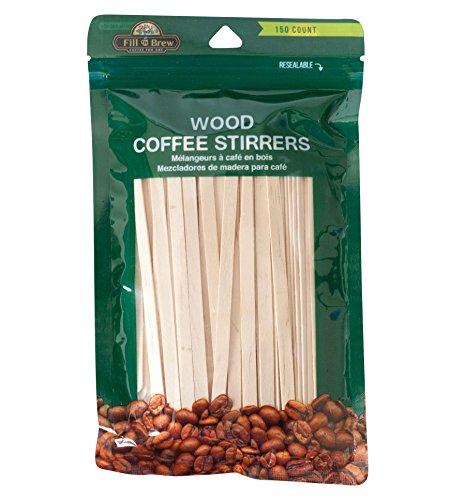 ssory Wood Stirrers 150 Pack ()