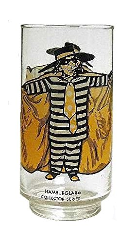 (McDonald's Collectors Series Glass (1977 / Hamburglar / 5 1/2
