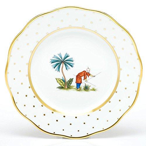 Herend China Asian Garden Salad Plate Motif 6