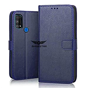 SHINESTAR Galaxy F41 / M31 Flip Case | PU Leather Flip Cover Wallet Case with TPU Silicone Case Cover for Samsung Galaxy…