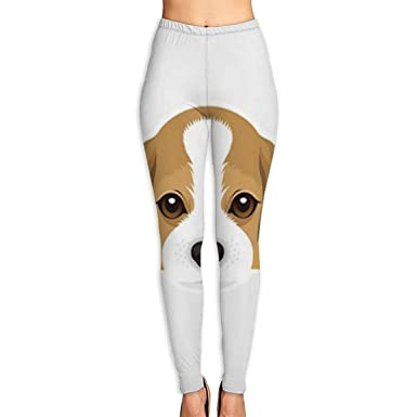 ANTOUZHE Pantalones de Yoga Beagle Dog Printed Yoga Pants ...