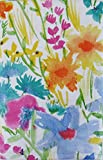 Best Elrene Patio Tables - Summer Meadow Watercolor with Zipper Umbrella Hole Vinyl Review