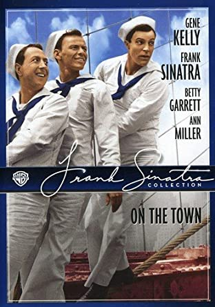 Image result for on the town frank sinatra dvd cover