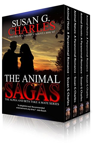 Book: The Animal Sagas - A Shapeshifter Paranormal Romance Box Set by Susan G Charles
