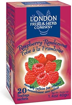 London Fruit & Herb Co Raspberry Rendezvous 20 Bags (Pack of 4 ...