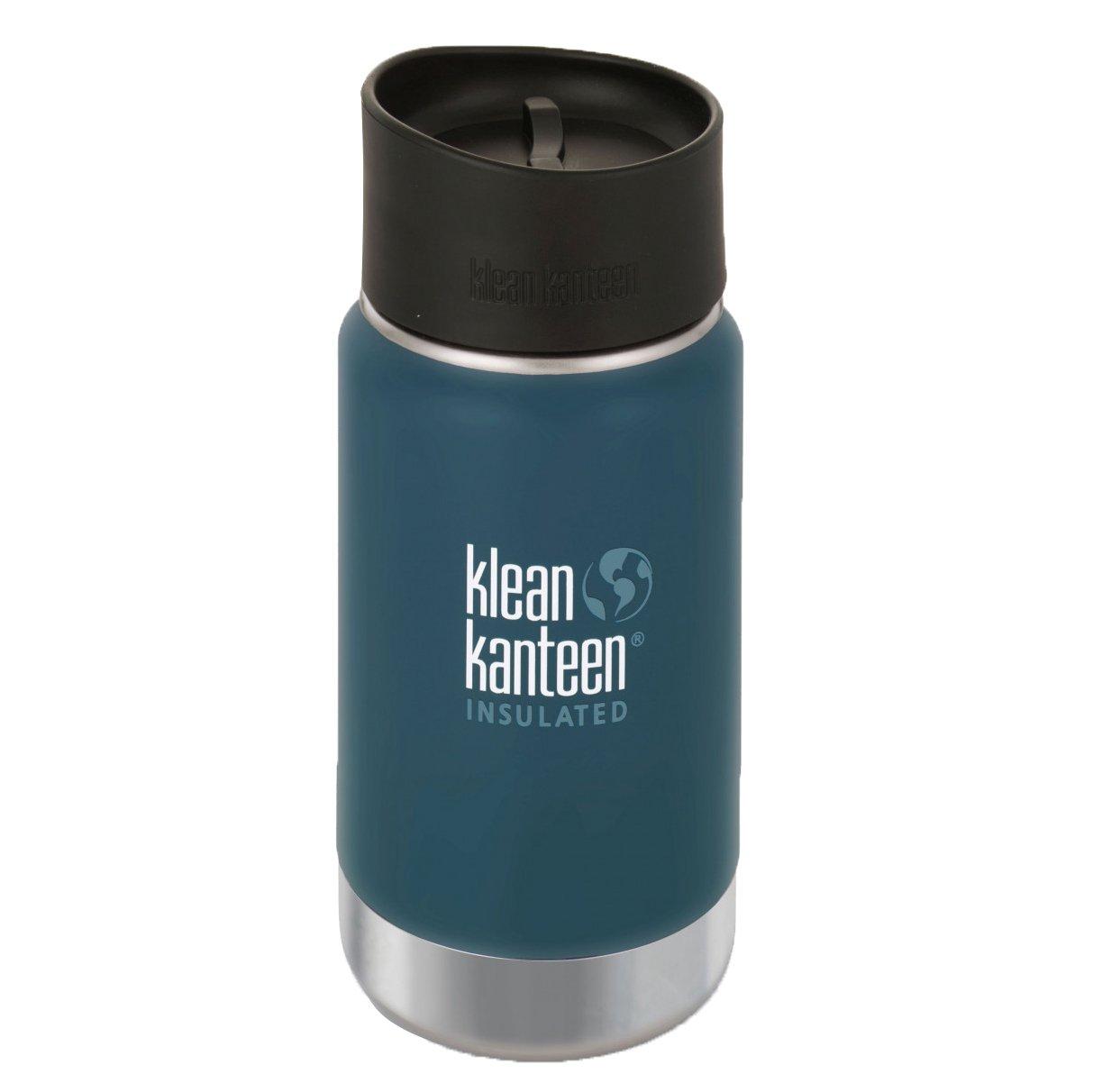 Klean Kanteen Edelstahlflasche mit Cafe Verschluss 355 ml Vakuum ...