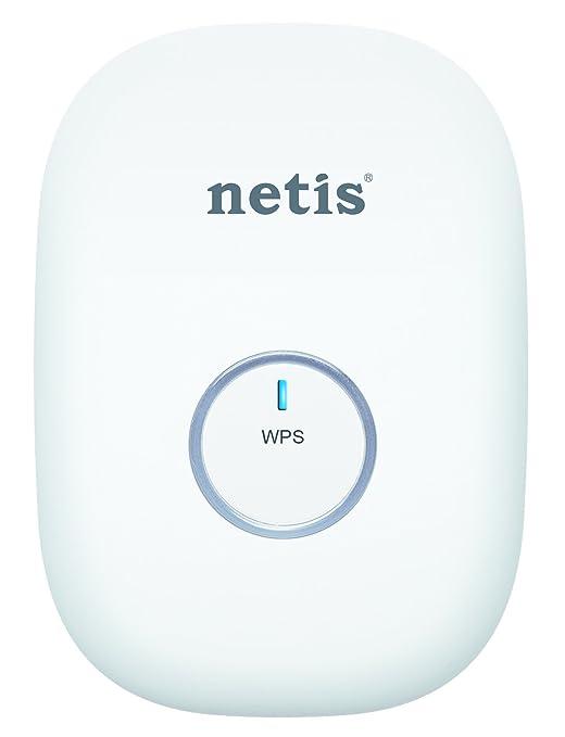 Netis E1 300Mbps Wireless N Range Extender Travel Router Wi Fi Repeater White E1 WHITE White Repeaters   Extenders