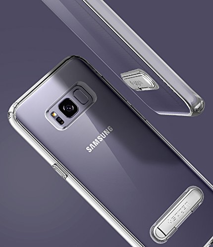 Spigen Ultra Hybrid S Galaxy S8 Case with Air Cushion Technology and Magnetic Metal Kickstand for Galaxy S8 (2017)