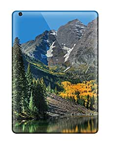 SwU8351wDIv Jamiemobile2003 Bubble Maroon Bells Durable Ipad Air Tpu Flexible Soft Cases