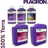 Plagron - Pack engrais 100% Terra 5 Litres - Indoor & Outdoor
