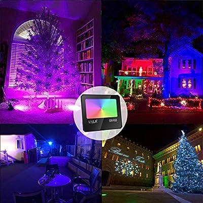 10W 30W 50W RGB LED Flood Light