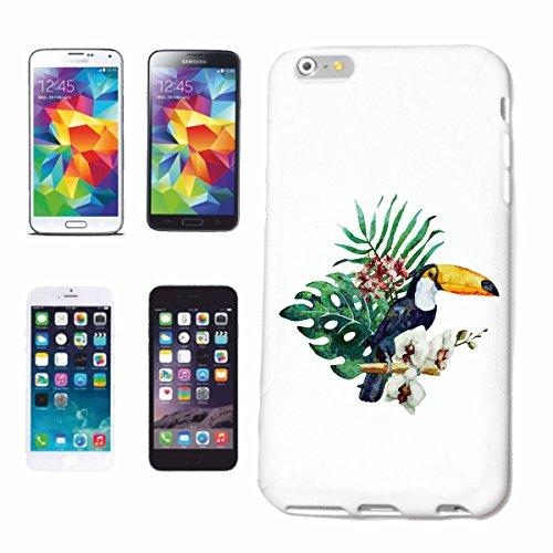 caja del teléfono Huawei P9 LORO CON LAS FLORES DE LA MANERA DE VIDA STREETWEAR HIPHOP SALSA LEGENDARIO Caso duro de la cubierta Teléfono Cubiertas cubierta para el Apple iPhone en blanco