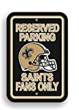 NFL New Orleans Saints Plastic Parking Sign