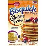Betty Crocker Bisquick Gluten Free Pancake and Waffle Mix (Pack of 36)