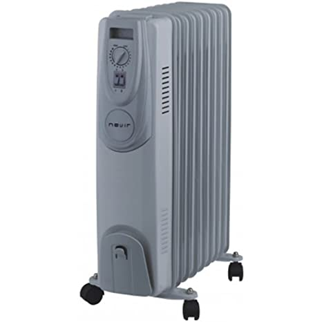 Nevir NVR-9501RA9 Radiador Abierto, 2000 W, 9 Elementos