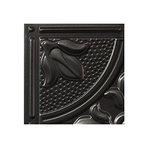 Acp Antique - Genesis - Antique Black Ceiling Tile - Drop/Grid Ceiling - Fast and Easy Installation (12