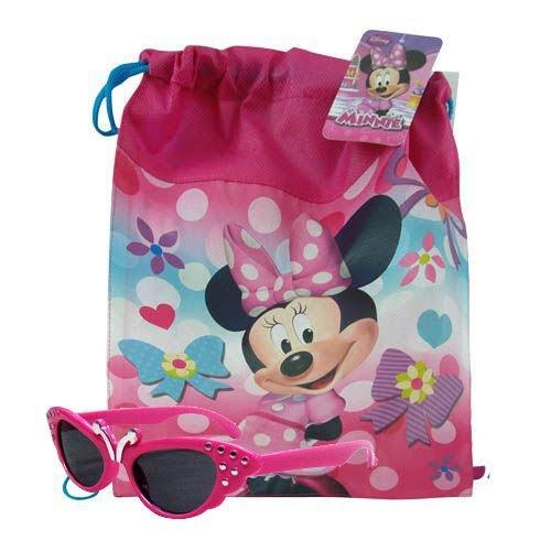 Minnie Mouse Drawstring sac ¨¤ dos 14 X 11 et Glamous Butterfly Set de lunettes de soleil QvVGhXi