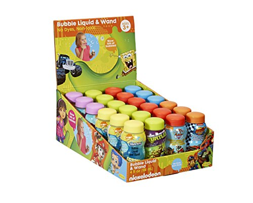 (Nickelodeon  4 fl oz. bubbles with wand (pack of 24))