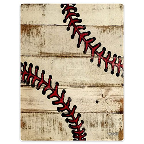 Baseball Throw Blanket - YISUMEI 60