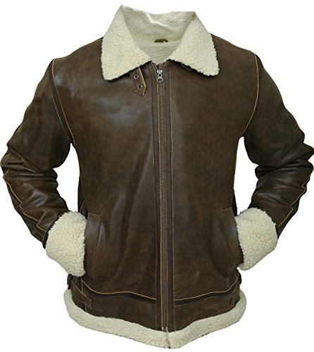 Para Hombre Larga Manga Chaqueta Marrón first Fashion wIXBzz