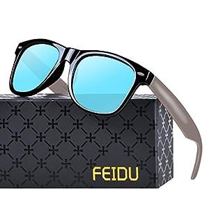 FEIDU Polarized Classic Retro Wayfarer Retro Sunglasses for Men Unisex FD 2149