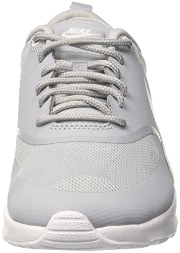 Grey Max Air Basses Grey NIKE Wolf Thea Baskets Femme Gris White Wolf qvB5wx54