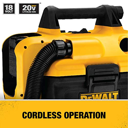 Dewalt Cordless Wet-Dry Vacuum