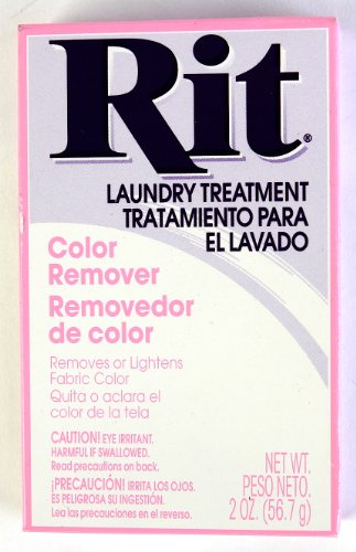 Rit Dye Laundry Treatment Color Remover Powder, 2 oz, 10-Pack by Generic
