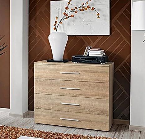 muebles bonitos Design Ameublement – Mueble de Sejour Salce Color Sonoma: Amazon.es: Hogar