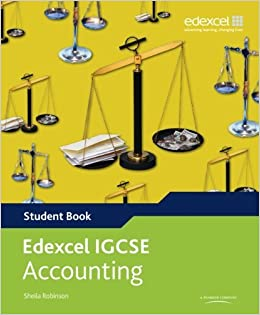 Book Edexcel International GCSE Accounting Student Book with ActiveBook CD by Sheila Robinson (2010-09-15)