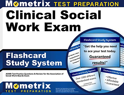 Clinical Social Work Exam Flashcard Study System: ASWB Test Practice Questions & Review for the Association of Social Work Boards Exam (Cards)