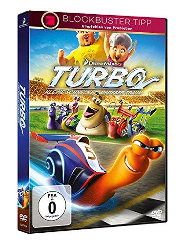 Turbo - Kleine Schnecke, großer Traum Alemania DVD: Amazon.es: Henry Jackman, Malte Arkona, David Soren, Susan Slagle Rogers, Lisa Stewart, Chris Stover, ...