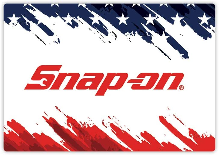 Snap-on Tools red White /& Blue Decal