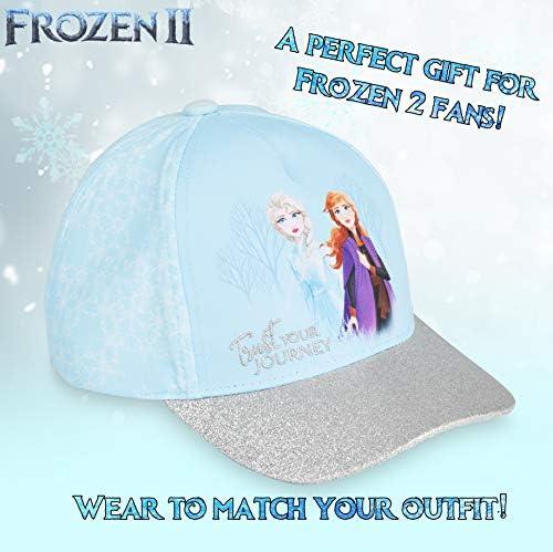 Chicas Personaje Frozen de Disney Princess /& Gorra De Béisbol Talla 2-8 años