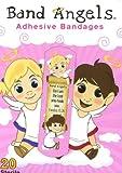 Band Angels Adhesive Bandages - Pink, Box of 20